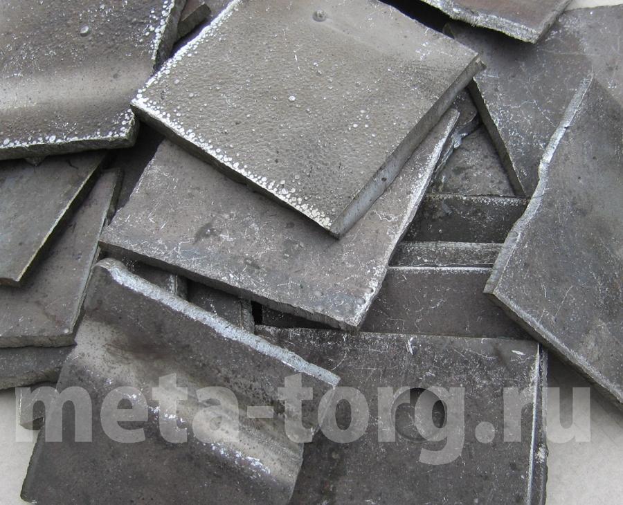 Пластины и листы из кобальта